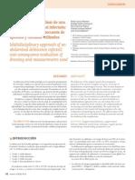 Abordaje multidisciplinar de una dehiscencia abdominal infectada
