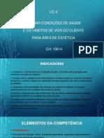 UC4 - Apresentação - Senac - Estética