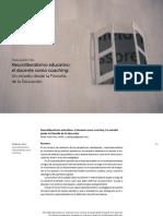 Pres (2019) Neuroliberalismo educativo. el docente como coaching. Un estudio desde la Filosofía de la Educación
