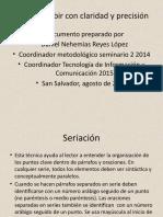 Cómo escribir con claridad y precisión 2014.pptx