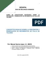 3. Obras preventivas y correctivas de problemas de inestabilidad - Conceptos básicos