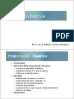 SESION 3-1 Programacion Dinamica