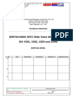 BSRTA4-MS01 RFCC Slide Valve Works Proposal (SV-1501,1502,1503 and 1504)