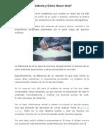 Qué+es+una+relatoría+y+cómo+hacer+una