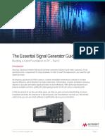 Essential Signal Generator Guide--5992-3619EN