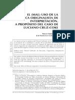 Dialnet-ElMalUsoDeLaTecnicaOriginalistaDeInterpretacion-4754565.pdf