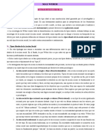 MAX WEBER Clase 2