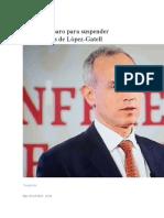 Niegan amparo para suspender conferencias de López-Gatell