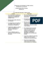 TENDENCIAS POLITICAS ECONOMICAS Y EDUCATIVAS