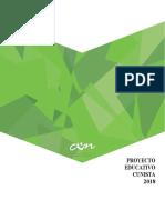 PROYECTO EDUCTIVO CUNISTA (1)