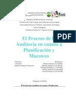 El Proceso de la Auditoría en cuanto a Planificación y Muestreo ( informe analisis).docx