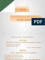 CT04 Voice Lessons