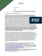 Public Comment on SEC Guidance S7-22-08