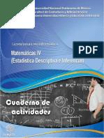 Matematicas IV (estadistica descriptiva e inferencial)