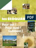 Plaquette Eco Quartier