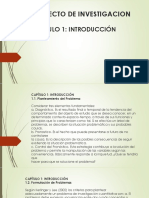 PROYECTO DE TESIS CAPITULO 1 INTRODUCCION