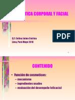 COSMETICA CORPORAL Y FACIAL