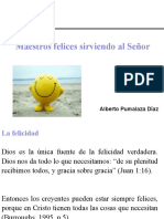 Maestros Felices Sirviendo al Señor - Dr. Pumalaza