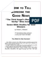 How to Tell Someone the Good News - Robert J. Wieland - Word 2003