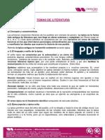 TEMAS DE LITERATURA LATINA