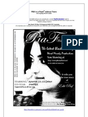 Piaf Without Tears | Voice Over Ip | Voicemail