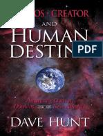 Cosmos Creator and Human Destiny