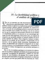 10 Meltsner Factibilidad Política y A P