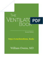 William Owens - The Ventilator Book (2018, First Draught Press)