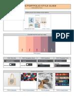 sophia portfolio style guide example  1