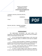 COUNTER AFFIDAVIT PRINT