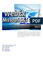 WebEx Missouri S&T Guide - 2011