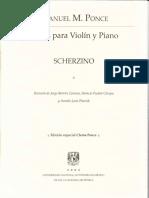 Manuel María Ponce - Scherzino