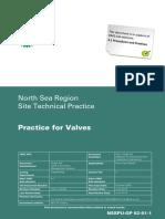NSSPU-GP 62-01-1 - Practice for Valves - 0900a866807bd875.pdf