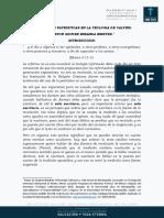 FUENTES PATRISTICAS EN LA TEOLOGIA DE CALVINO
