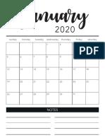 2020_Calendar_BW
