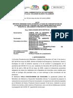 Auto tutela 2015-00734-00 Santurbán.