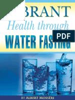 Vibrant Health Through Fasting Albert Mosseri