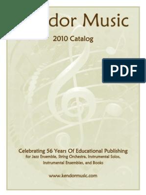 Kendor Catalog 2010 Web | Orchestras | Jazz