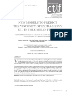 NEW MODELS TO PREDICTTHE VISCOSITY OF EXTRA-HEAVY OIL IN COLOMBIAN FIELDS