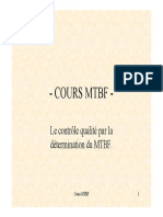 cours MTBF