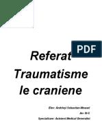 traumatisme craniene