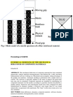 NUMERICAL MODELING OF COMPOSITE MATERIALS