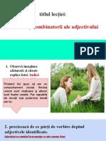 functiile adjectivului ppt