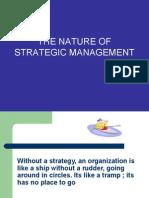 1  NATURE OF STRATEGIC MANAGEMENT siap upload