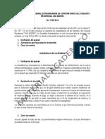 ACTAS DE ASAMBLEA GENERAL EXTRAORDINARIA DE COPROPIETARIOS DEL CONJUNTO RESIDENCIAL SAN ANDRES FF