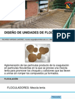 Diseño de unidades de floculación