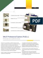 MALA-Pro Ex System - Español