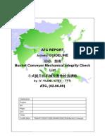 TSMATC300STUDIESNMR09062009 Guideline - Mechanical Integrity Check List - Bucket Conveyor