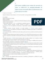 Ordin Masuri Sanitare Si Protectie COVID-19 Scoli, Licee, Universități