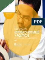maestria estudios politicos 2019 ICESI